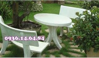 Địa chỉ bán bàn ghế đá hoa cương, giả gỗ tại tphcm