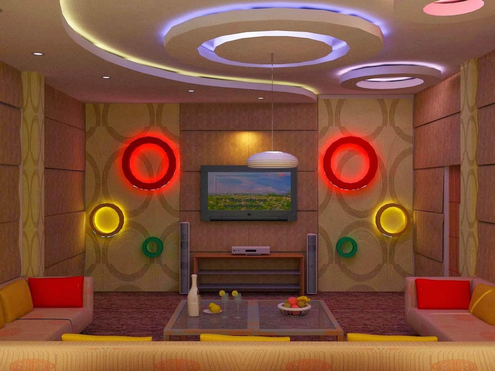 Nhận thiết kế thi công phòng karaoke đẹp giá rẻ tại tphcm