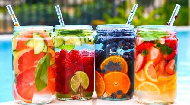 Giảm cân tuyệt vời với 5 loại nước uống detox dưới đây