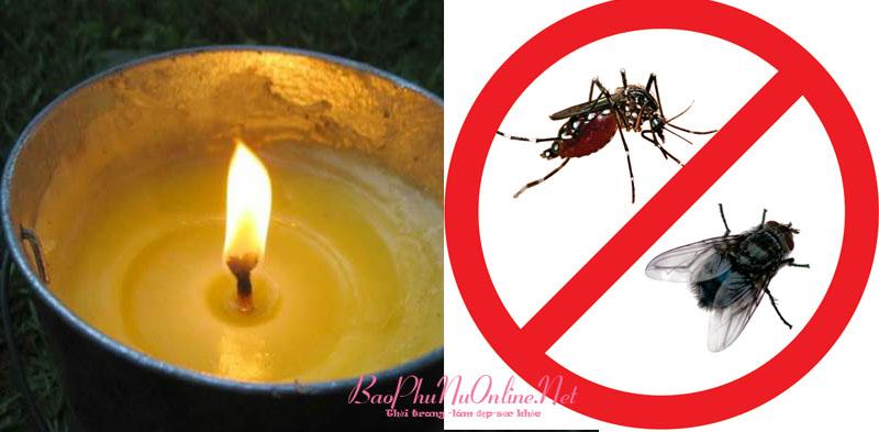 Nhà không còn bóng ruồi, muỗi chỉ với 1 cây nến, ai cũng nên thử
