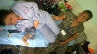 Chồng đánh đập và ép vợ uống thuốc diệt chuột trong cơn ghen